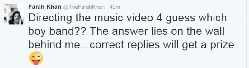 Farah Khan the Vamps