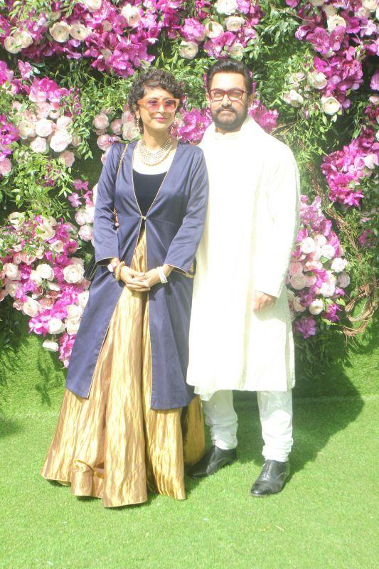 Aamir Khan with his wife Kiran Rao. (Photo Courtesy: Mrugesh Bandiwadekar)