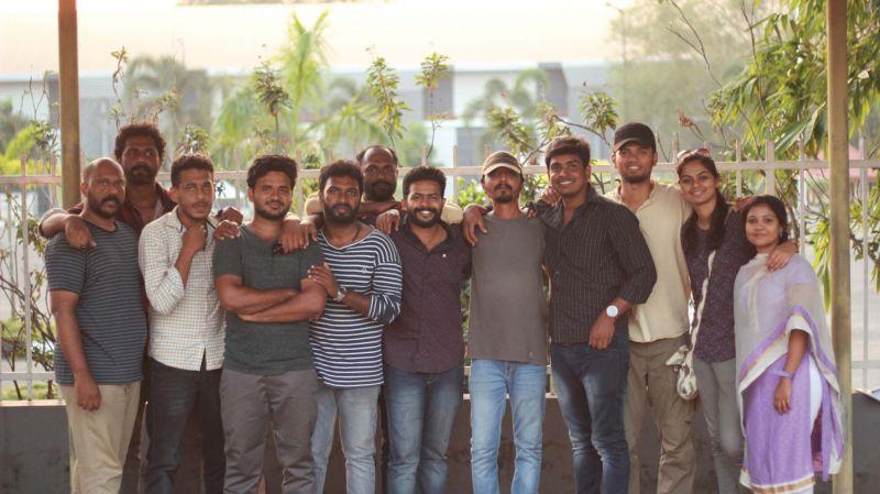 The crew of Mookkuthi