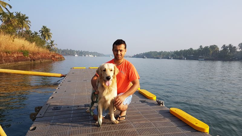 Bhupendra Khanal, Founder and CEO, Dogsee Chew.