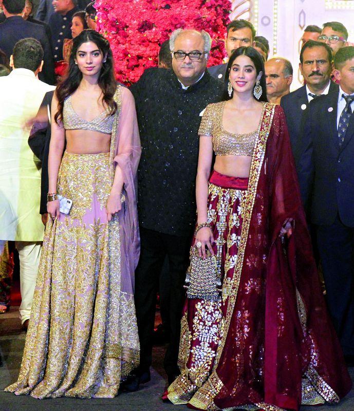 Khushi, Boney and Janhvi Kapoor