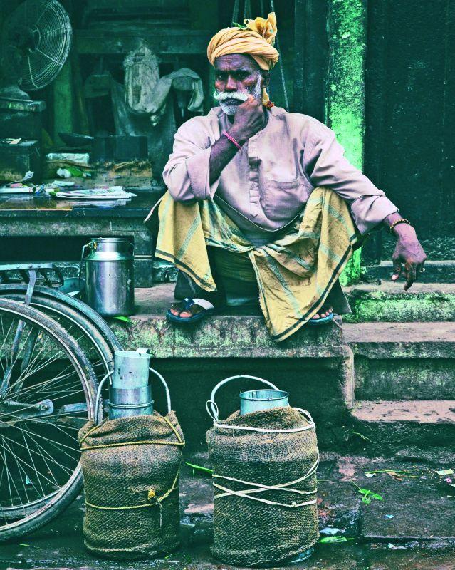 Mr Yadav in Varanasi