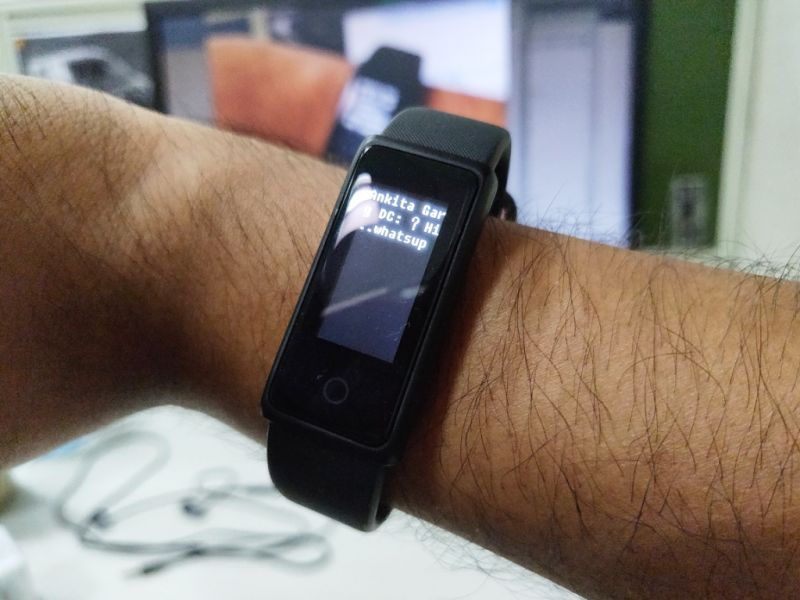 Noise Colorfit fitness band (Deccan Chronicle)
