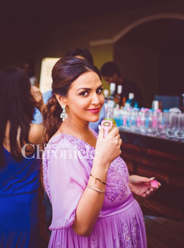 Sis Ahana Hosts Surprise Baby Shower For Esha Deol With Hema Malini