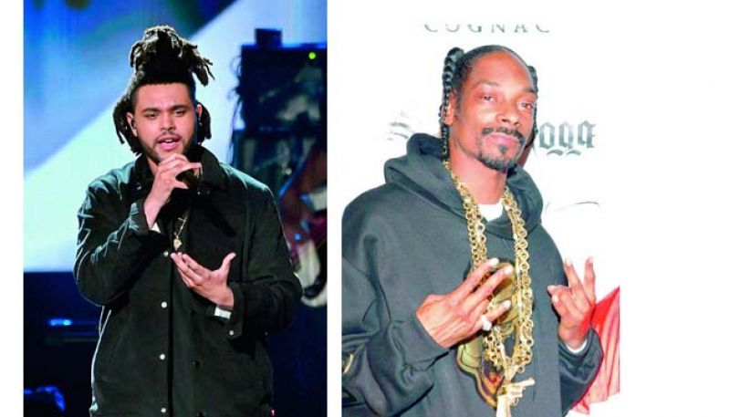 The Weeknd and Snoop Dogg