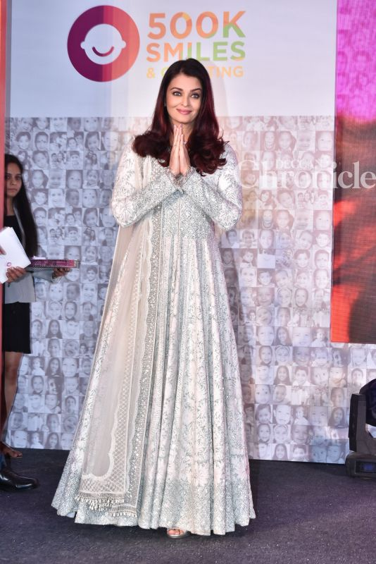 Video: Aishwarya gets emotional talking about father at event for noble cause