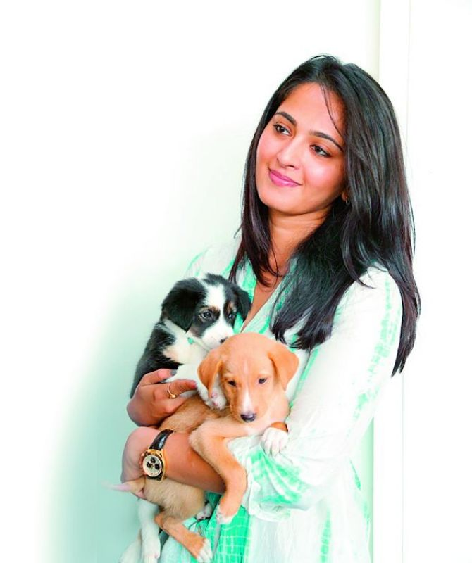 Anushka  considers her pet as her best friend