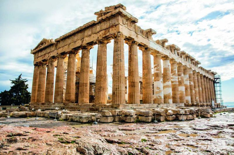 Acropolis, one of the biggest tourist attractions in the world, is a must-visit