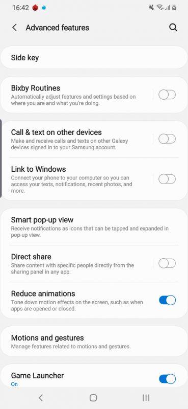 Samsung Galaxy A50s software