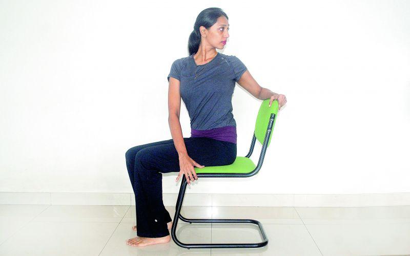 SeatedSpinal Twist