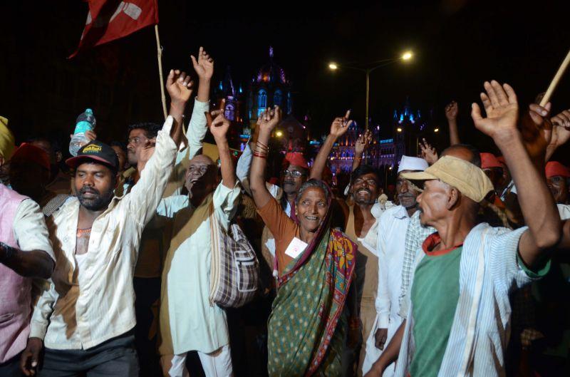 Maharashtra Farmers Protest. (Photo: Shripad Naik)