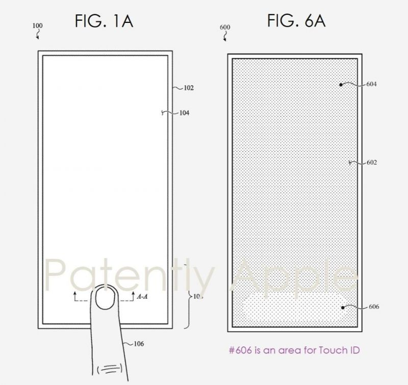 Apple iPhone 12 Touch ID patent