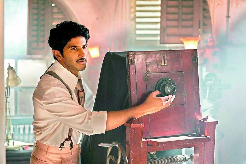 A still of Dulquer Salmaan from the movie