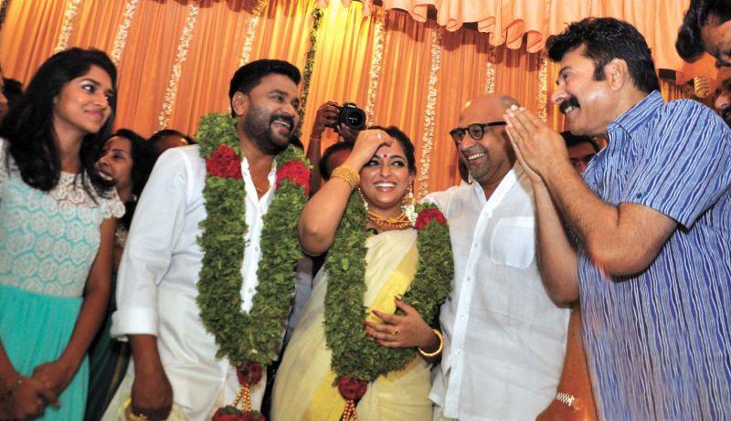 Dileep Kavya With Mammootty
