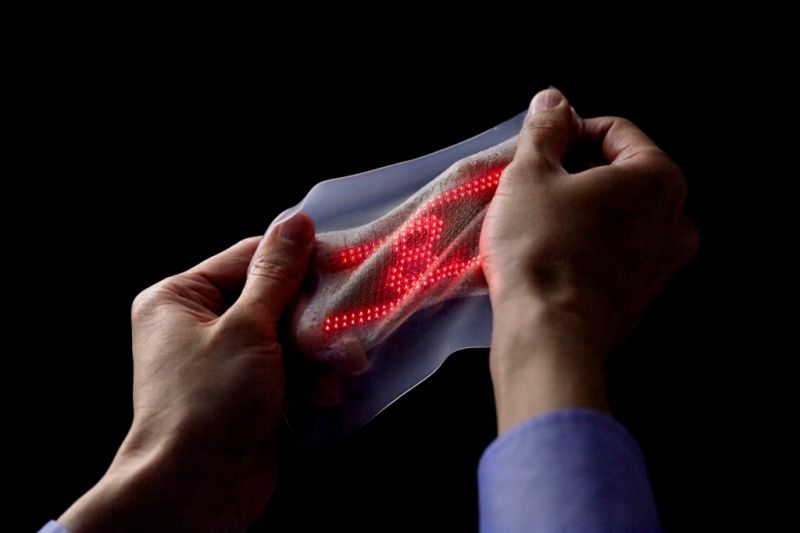 Stretchable display (University of Tokyo)