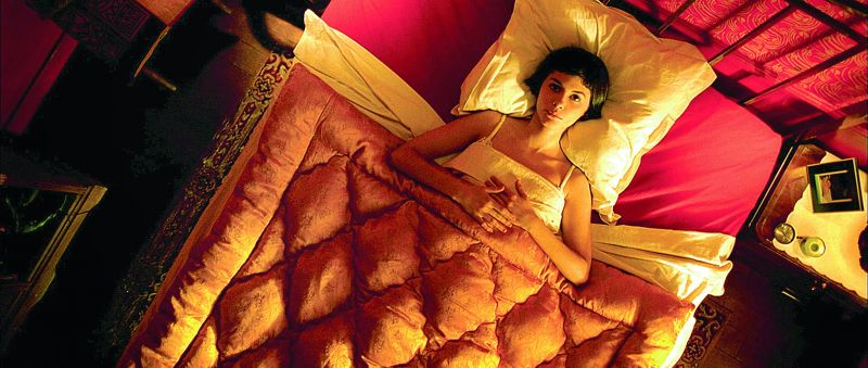 Stills from the film Amélie — a story of a shy waitress who decides to change the lives of those around her for the better, while struggling with her own isolation.