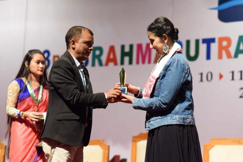 Manisha Koirala at Brahmaputra Literary Festival in Assam