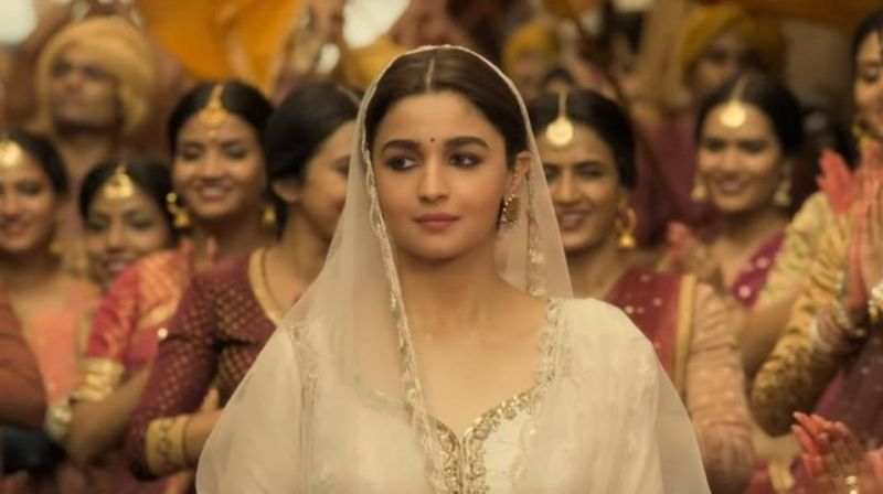 Alia Bhatt in the still from the film.