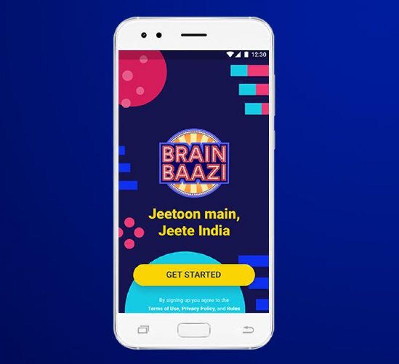 BrainBaazi application