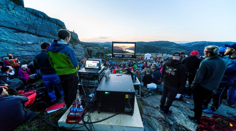 'Mission: Impossible - Fallout' Held a Screening on Top of a Cliff