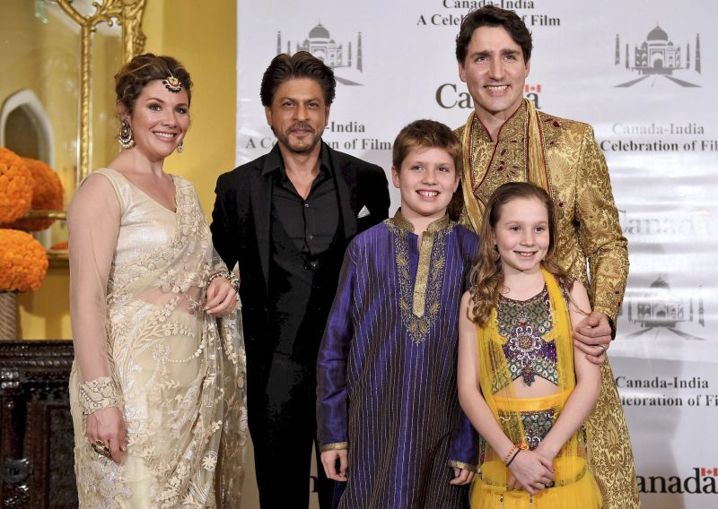 B-town meets and greets Trudeau