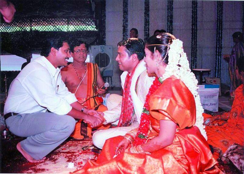 Jagan at Vinay Kotimreddy's marriage
