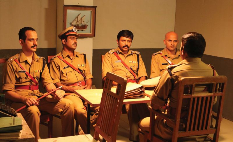 Film still of Kaattu Vithachavar.