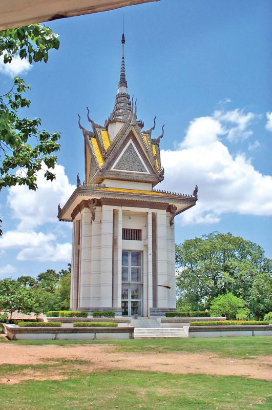 Cheong Ek (the infamous killing fields of the Khmer Rouge)