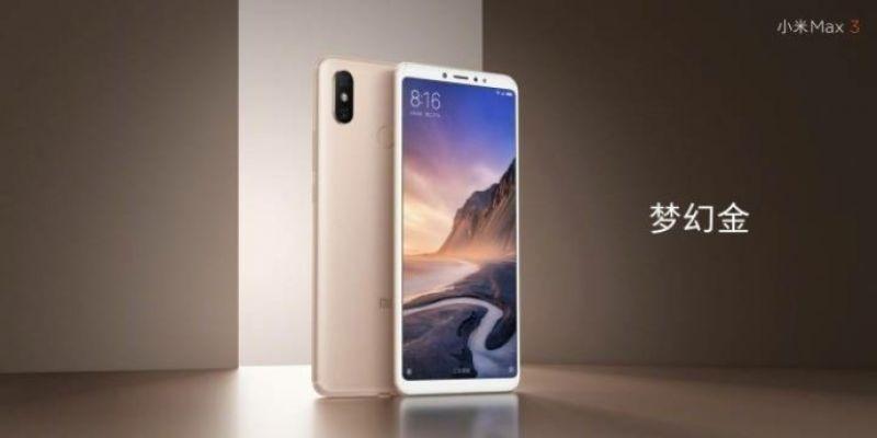 Xiaomi Mi Max 3 leaked