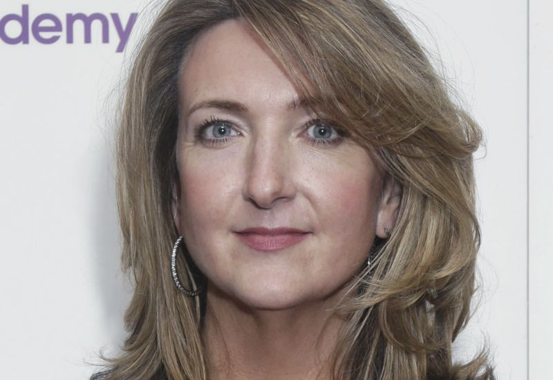 In this file photo dated May 13, 2013, BBC TV journalist and presenter Victoria Derbyshire poses for photographers in London. (Photo: AP)