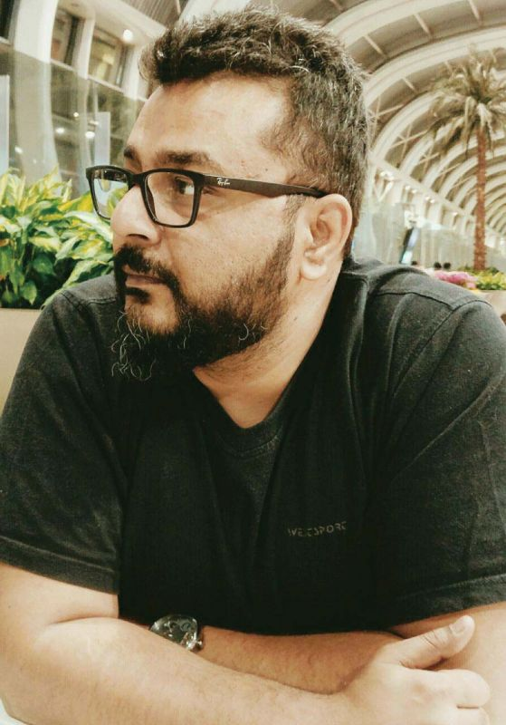 Artist Amrish Malvankar