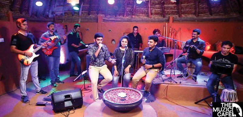 Bangalore Muzic Café team