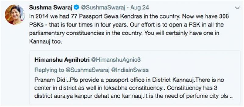 A common man's Twitter interaction with a top minister (above) shows that Social media has made our politicians more accountable and has been a great boost for democracy. This is one reason why most non-democratic governments ban social media platforms in their countries). However, It turns out that social media can also be used to spread false propaganda.