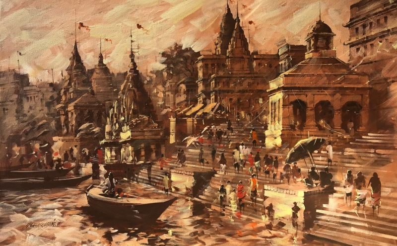 Painting by Sandeep Chhatraband