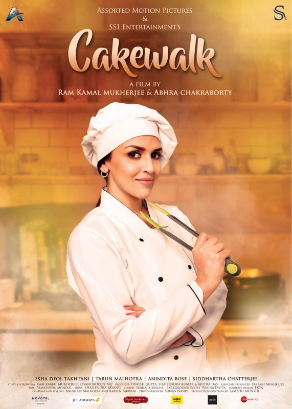 Esha Deol in the poster of Ram Kamal Mukherjee's 'Cakewalk'.