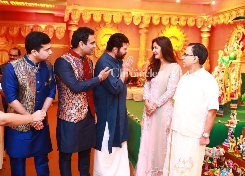 Katrina Kaif Greets Mammootty The Two Had Worked Together In Malayalam Film Balram