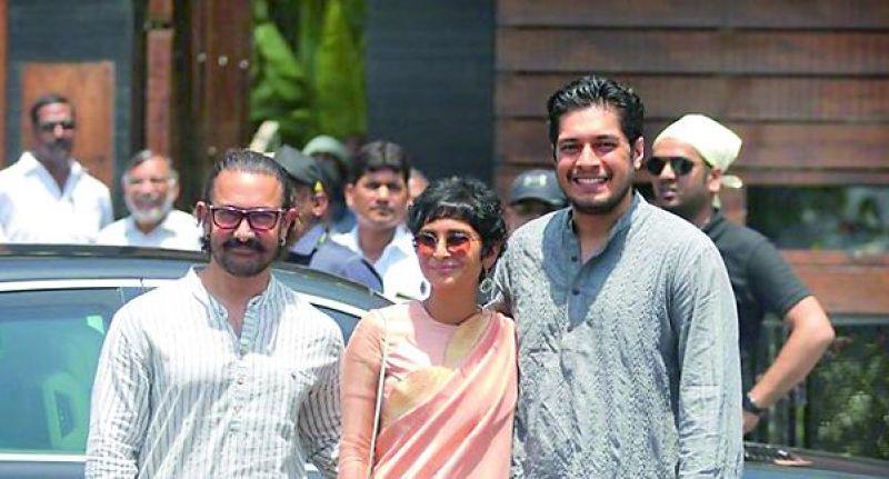 Aamir Khan, Kiran and Junaid