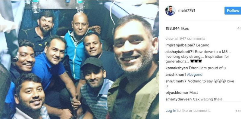 (Photo: Dhoni Raina FC/Twitter)