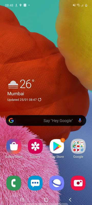 Samsung Galaxy A51 One UI 2.0