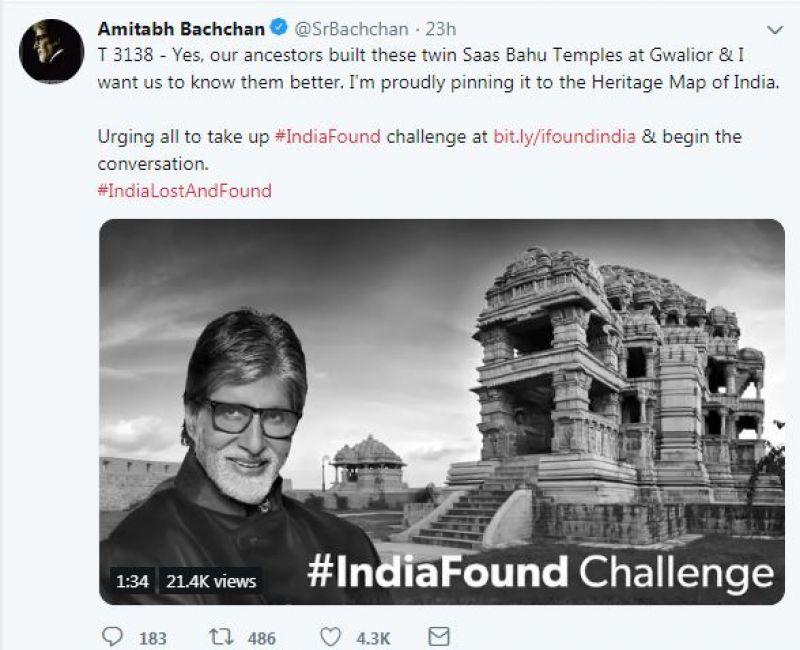 Amitabh Bachchan's tweet