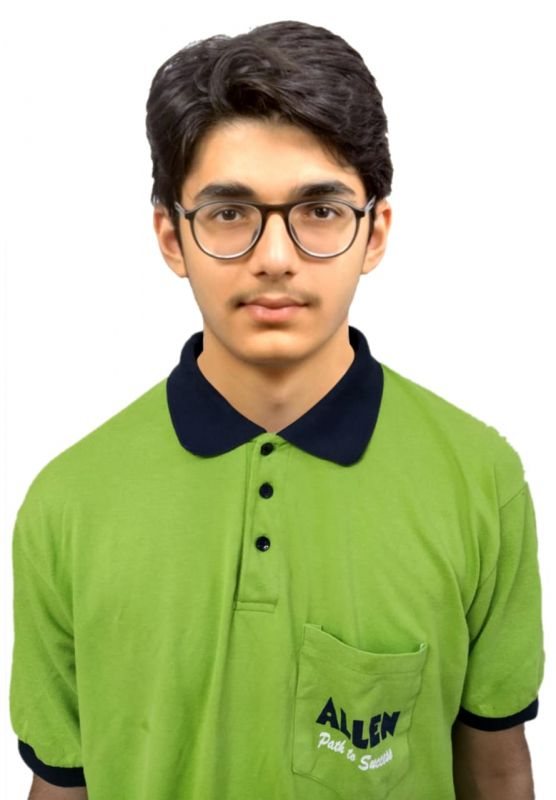 Harsh Lulla, JEE Main 2020 topper from Mumbai