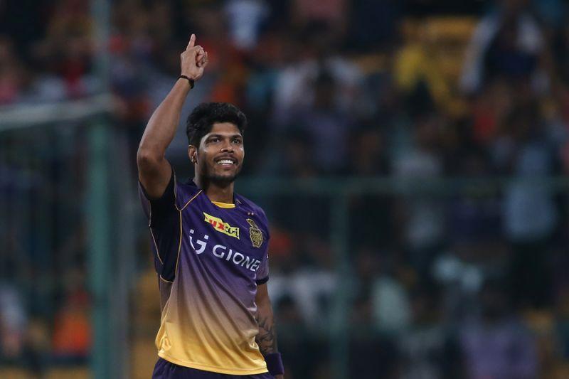 Umesh Yadav bowled brilliantly against David Warner in the Eliminator against Sunrisers Hyderabad. (Photo: BCCI)