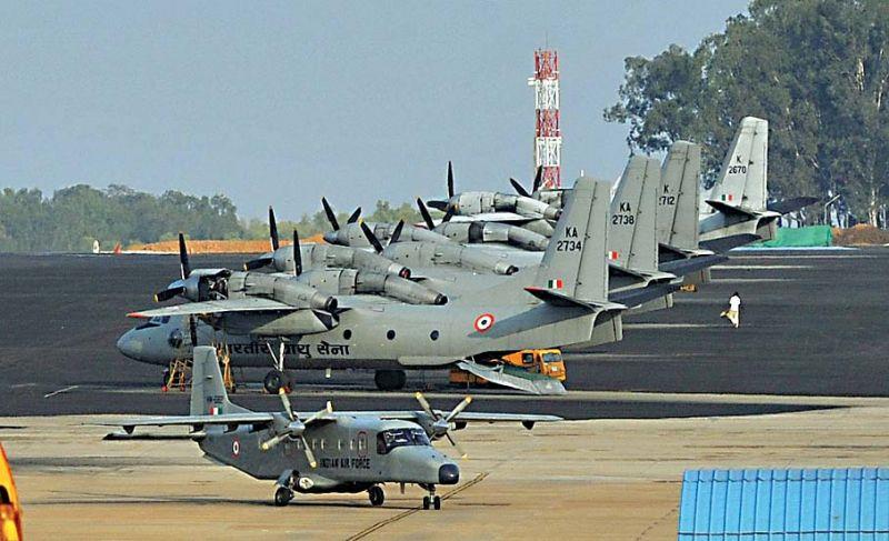 Yelahanka Air Force Station getting ready for Aero India 2019