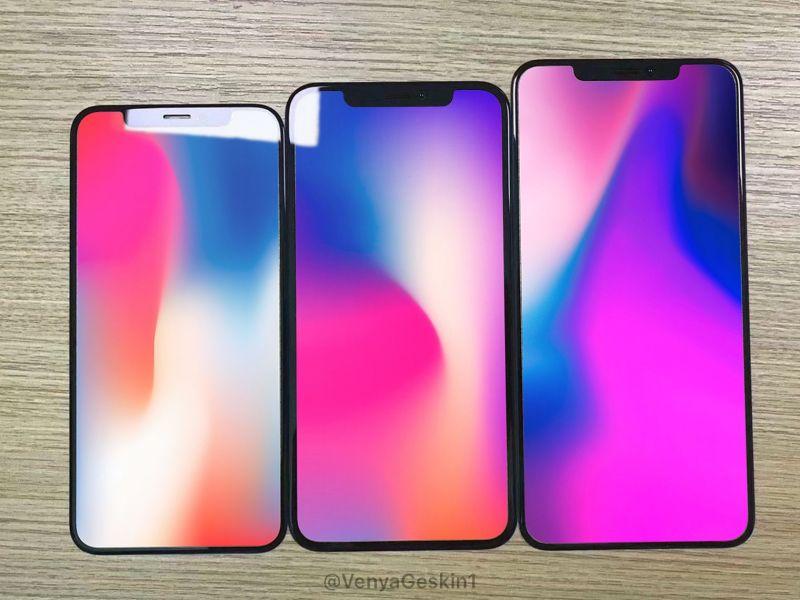 iPhone 2018 lineup leaks
