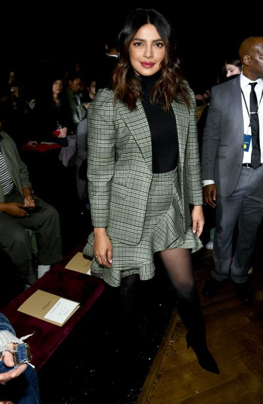 Priyanka Chopra at Michael Kors event in New York. (Picture courtesy: AFP)