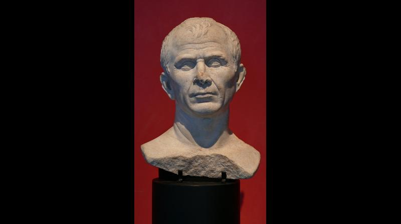 The reconstruction was made by archaeologist Maja d'Hollosy, who used two busts of Caesar as well as coins and a marble portrait of the emperor. (Photo: Pixabay)