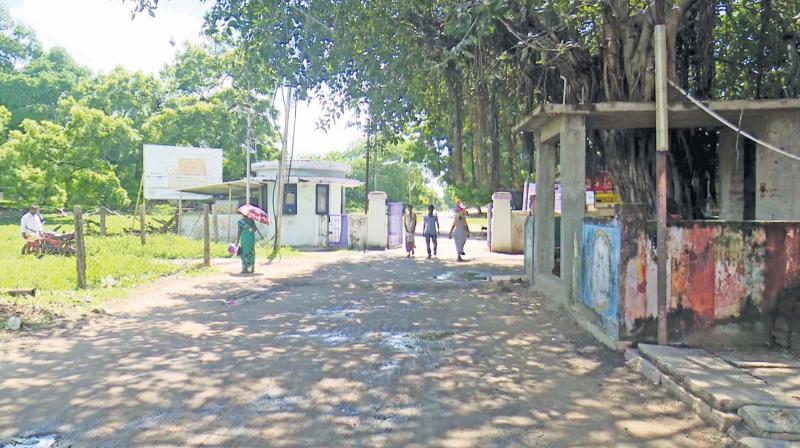 A view of the Mandapam transit camp for Sri Lankan Tamil refugees near Rameswaram. (Photo: DC)