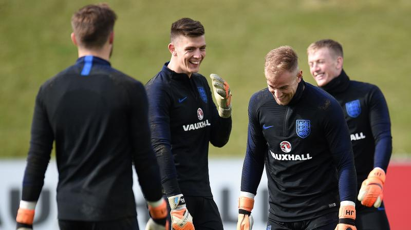 England boss Gareth Southgate impressed by Jordan Pickford's display in Holland