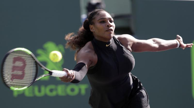 Williams looked a shadow of her former self, yet her opponent was too focused on her own game to notice any glaring deficiencies in the American's game. (Photo: AP)