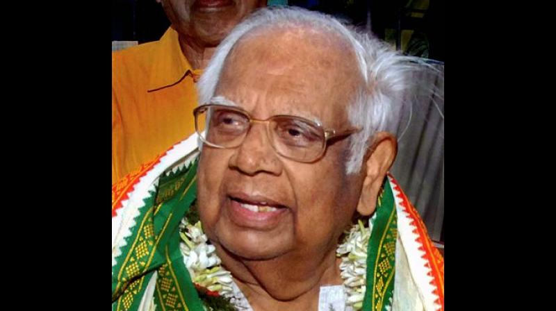 Somnath Chatterjee is survived by wife Renu, a son and two daughters. (Photo: File   PTI)